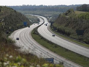 Motorways are quiet with no mass Easter getaway this year amid the lockdown
