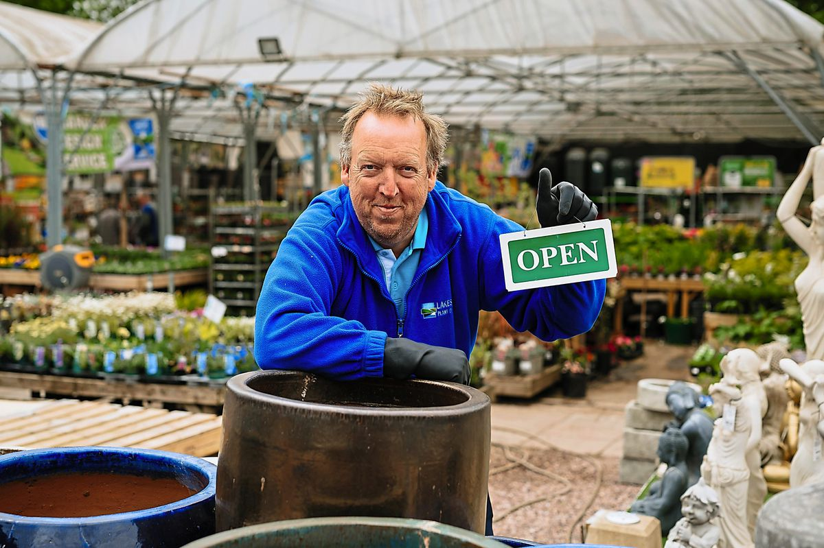 New beginnings for plenty of plants – Kevin Turley from Lakeside Plant Centre in Telford