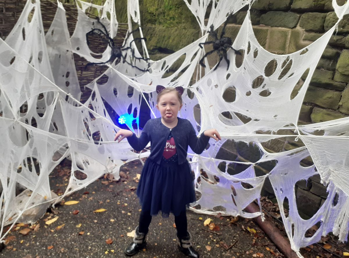The Haunted Hallows kept Annabelle on her toes