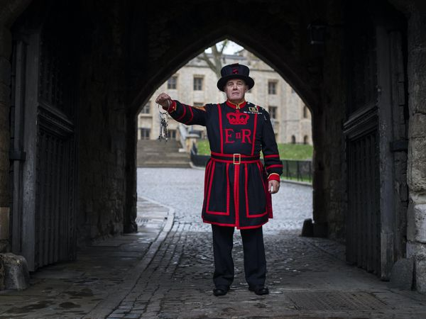 Beefeater Serjeant Rob Fuller