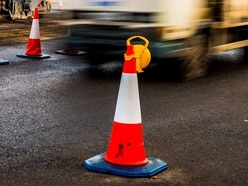 Lorries 'ignoring' diversion signs at major roadworks near Oswestry