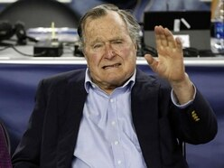 George HW Bush admitted to hospital in Maine