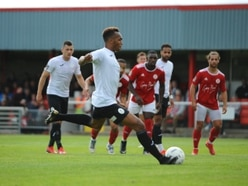 Marcus Dinanga hoping to continue AFC Telford hot streak