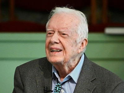 US ex-president Jimmy Carter taken to hospital after brain bleed