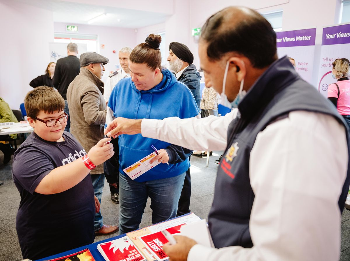 Donnington Community Hub hosted the event