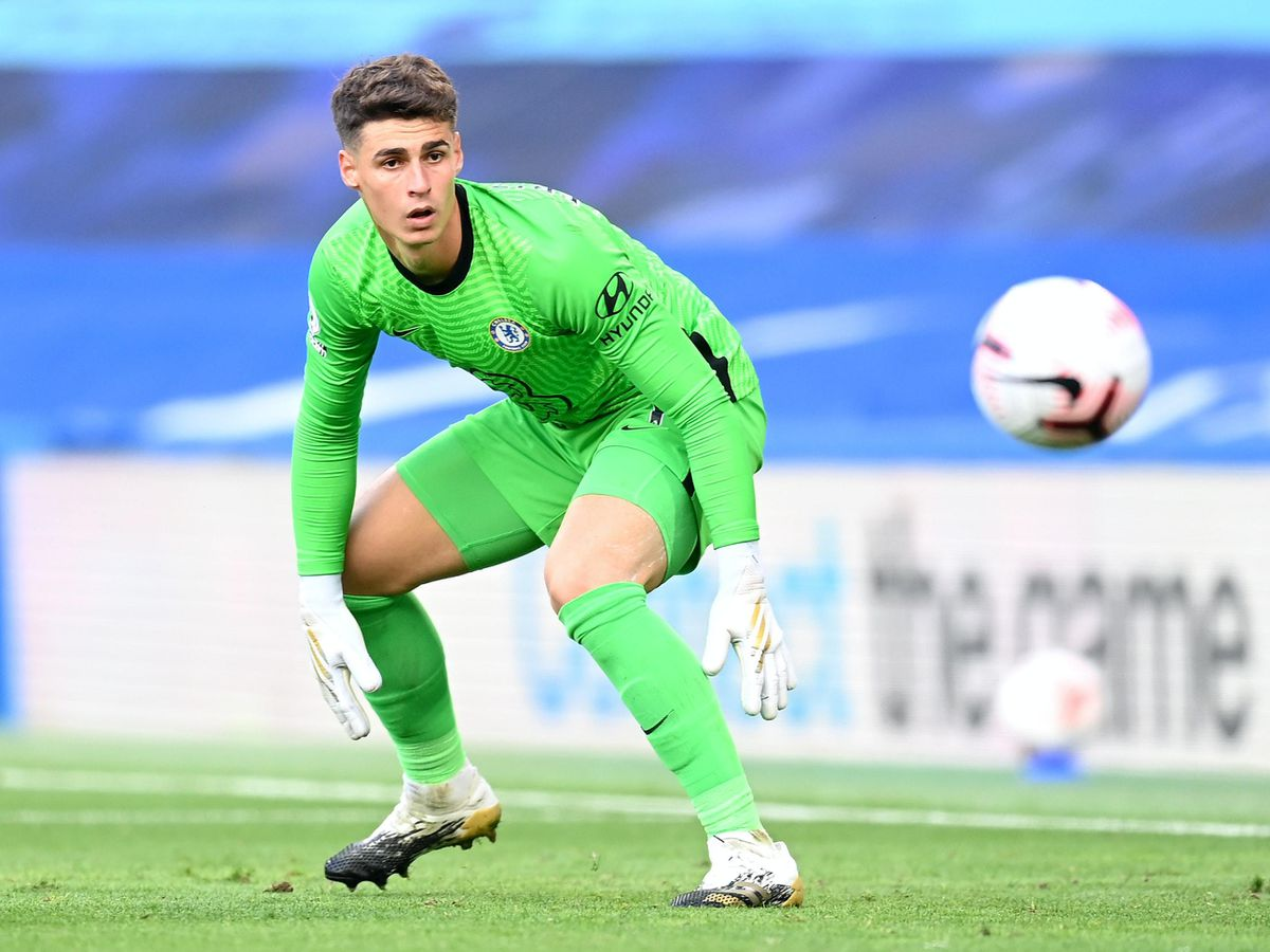 Kepa Arrizabalaga was at fault for Liverpool's second goal