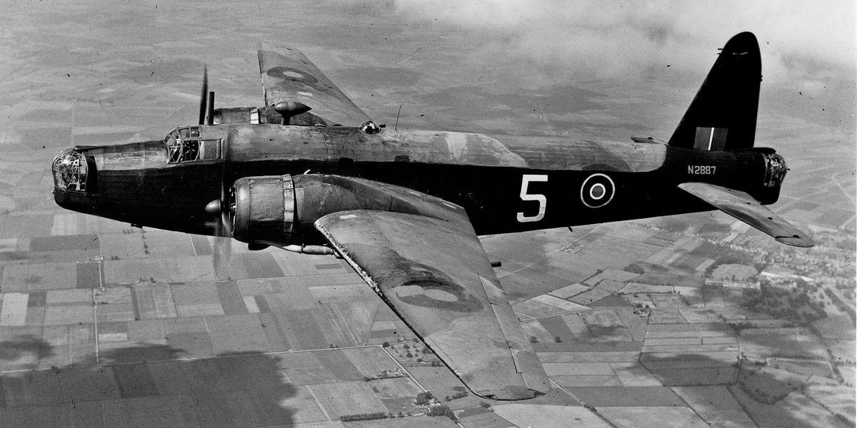 A Wellington bomber