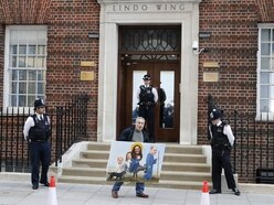 Royal baby number three has arrived and things are already getting wacky