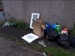 Police report three different fly-tips while on patrol in Telford