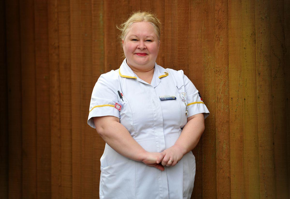 Karen Roberts-Shepherd from Great Barr, is a student nurse at Birmingham City University