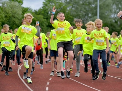 More than 450 schoolchildren take on Telford 'half marathon'