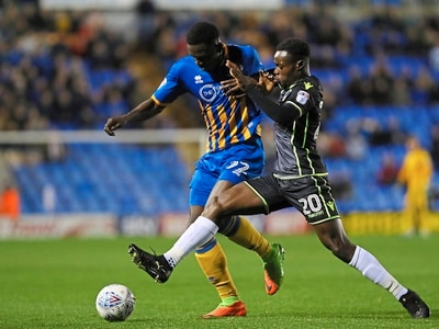 Friendships playing big role in Shrewsbury Town success, says Toto Nsiala