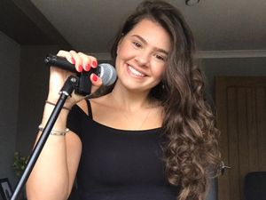 Lauren Hughes is preparing to perform at the Shropshire Virtual Show