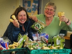 Surplus supermarket food available to public over festive period in Shrewsbury