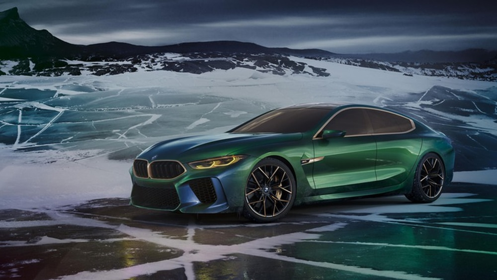 BMW Concept M8 Gran Coupe breaks cover