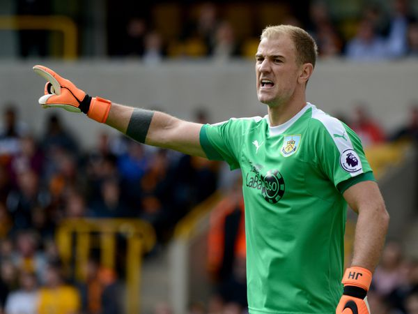 Goalkeeper Joe Hart of Burnley.