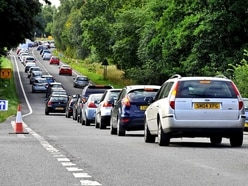 V Festival traffic: Drivers face delays as last fans leave Weston Park site