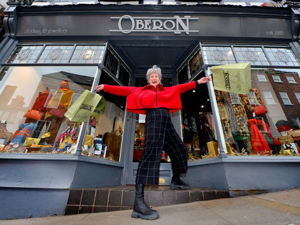 Stacey Hill from Oberon in Shrewsbury has been entertaining customers with her videos
