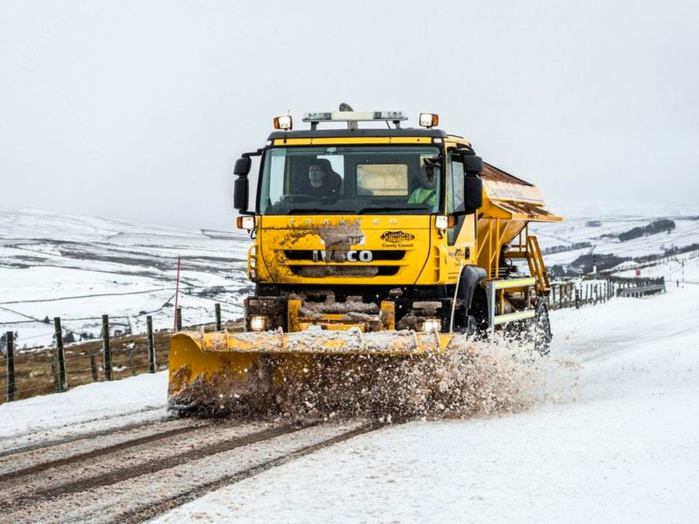 More wintry weather on the way for Cumbria
