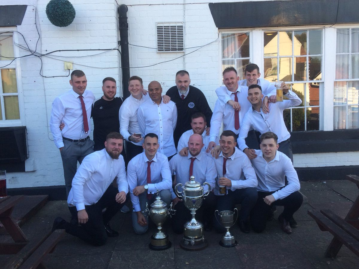 Ready for a new challenge – Oakengates Athletic's title winners have switched to Wellington Amateurs