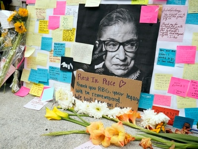 Thousands expected to honour Ruth Bader Ginsburg at Supreme Court