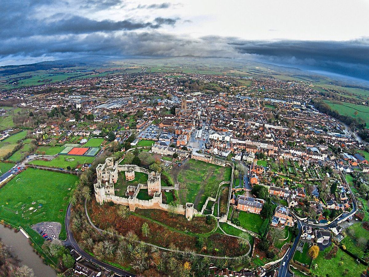 Ludlow is expected to see 1,000 new homes and 11 hectares of employment land