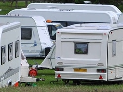 Council and police take action after traveller camp sets up in Telford
