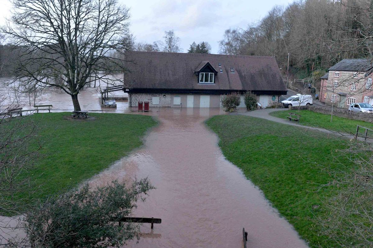Water surrounds CSONS in Ludlow