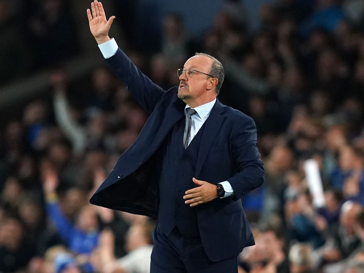 Everton manager Rafael Benitez wishes his side would score earlier to save him stress on the sidelines