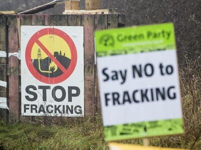 Two arrested as police clear protesters at fracking site in North Yorkshire