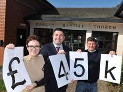 Telford church a step closer to upgrade after £45,000 donation