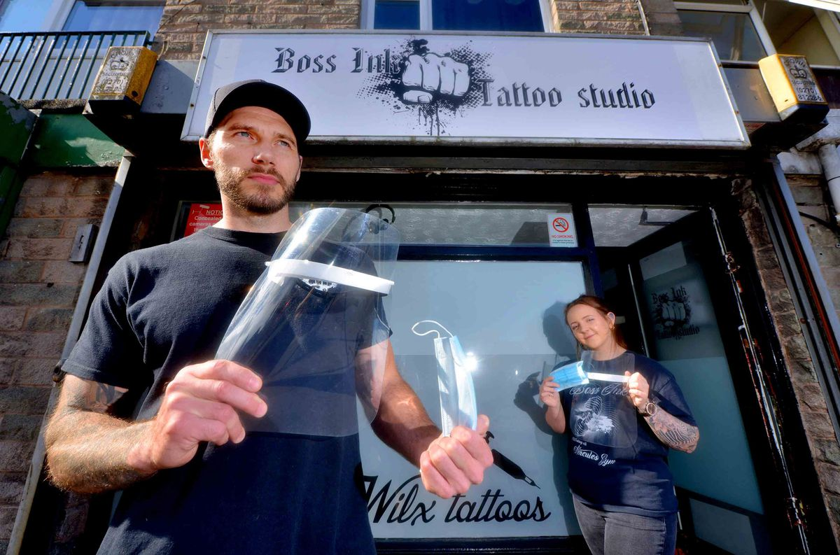 Boss Ink Tattoo Studio is back open after closing in March