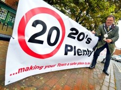 Call to support 20mph road speed safety project in Shropshire