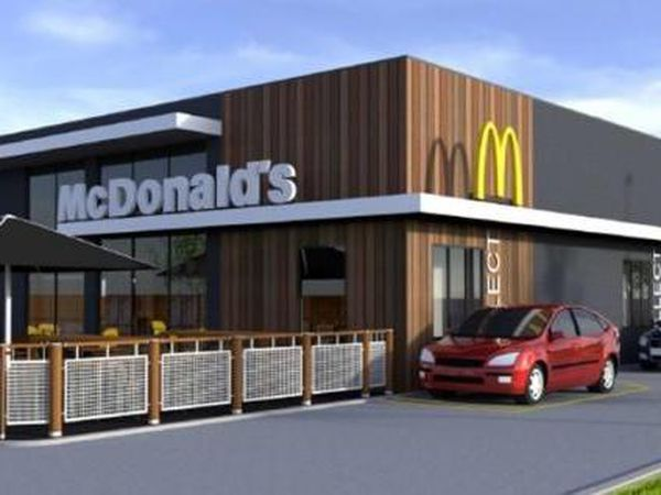 The proposed McDonald's in Oswestry