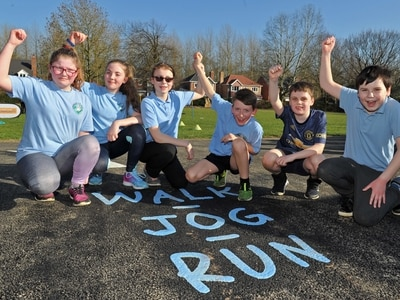 Shropshire pupils on track to being healthy