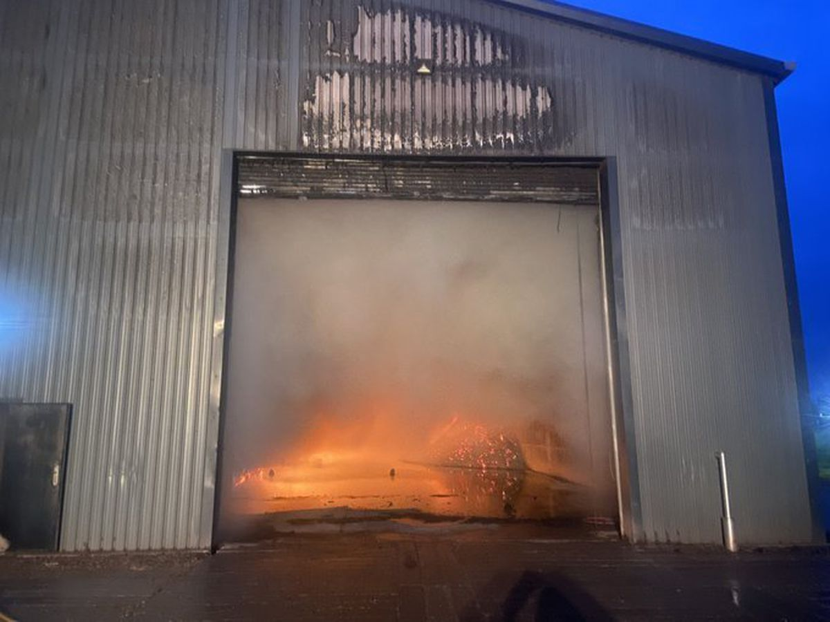 A number of crews were called to deal with the blaze. Photo: SFRS_MDrayton