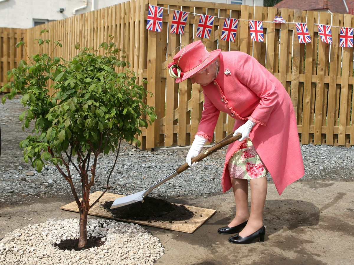 The Queen has planted more than 1,500 trees all over the world during her reign (Andrew Milligan/PA)