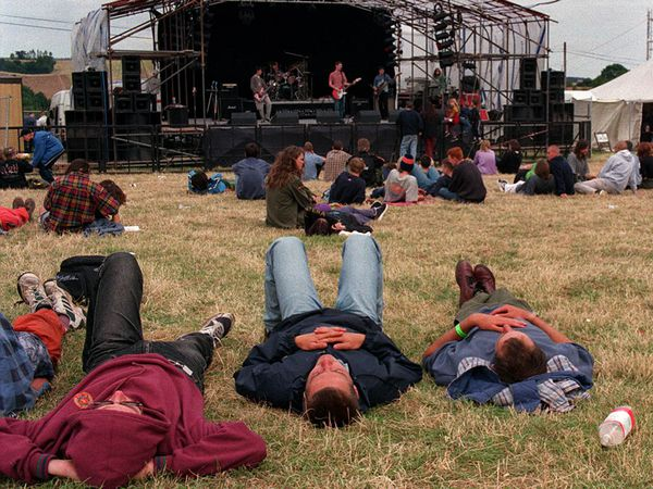 The weekend long rock festival at Aston Eyre, proved to much for some of the revellers.