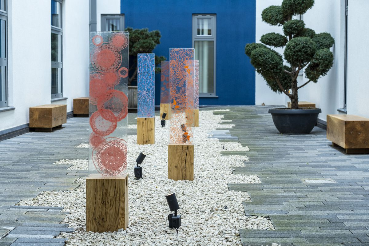 The Designs in Mind installation at the RJAH. Photo: Aaron Child of Painted Life