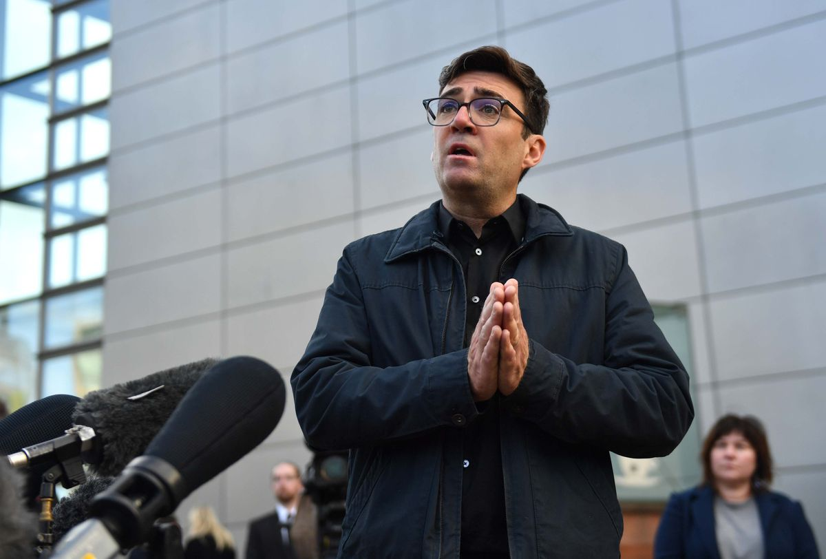 'Burnham's quotes will stick' - Andy Burnham's press conference over the restrictions imposed on Manchester on Tuesday