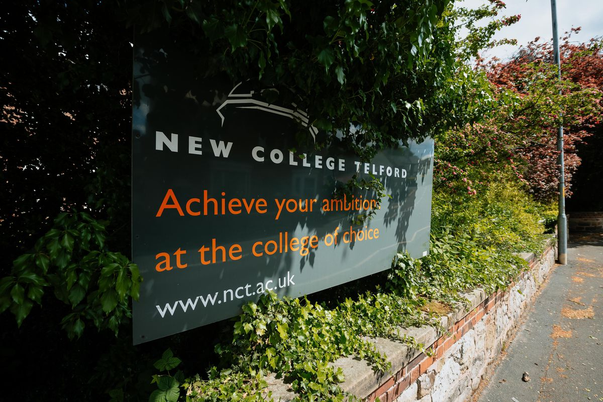 Councillors discussed plans for the redevelopment of New College in Telford