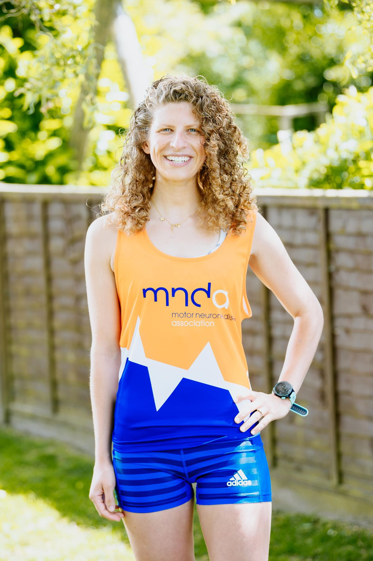 BORDER COPYRIGHT SHROPSHIRE STAR JAMIE RICKETTS 15/06/2021 - Bryony Webster from Baschurch is thrilled that the London Marathon can be run virtually. She has autism and could never manage the crowds and noise of the event. She is running around Shropshire for the Motor Neurone Disease charity..