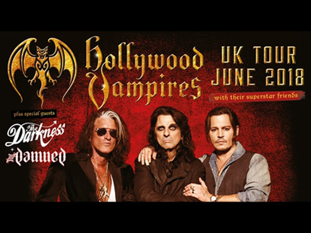 Hollywood Vampires, Gary Barlow, BBC Good Food Show and more: What's on this weekend in the Midlands and Shropshire