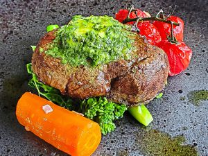 Steak with vegetable-all-stars