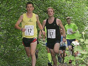 Tim Davies blazes a trail at Eastridge