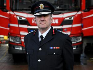 Rod Hammerton, chief fire officer at Shropshire Fire & Rescue Service