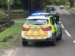 Man injured in crash near Market Drayton