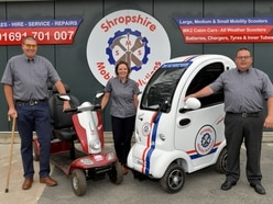 New showroom to open as Shropshire mobility company expands