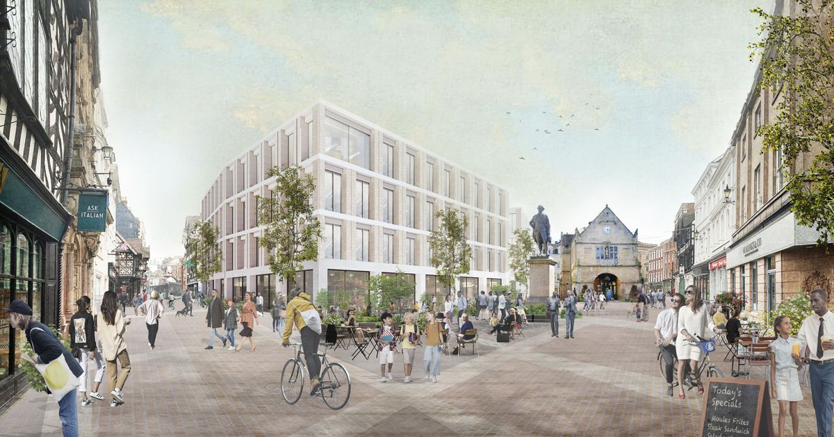 How the Square could look under the masterplan proposals