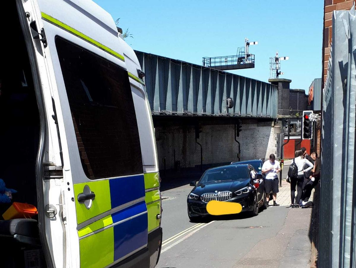 Officers made eight arrests in Shrewsbury in a joint operation with Merseyside Police